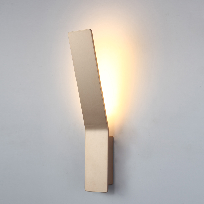 Modern LED wall lights, LED lamp 9W, home decoration wall wash light, Living Room, Bedroom, Hall, aluminum wall sconces, ark light modern white ufo wall lamp wall sconces light minimalist hall porch walkway