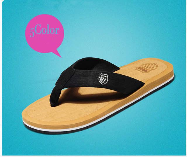 9f07e67f6ac3 placeholder 2016 David Beckham Slippers Men Flip Flops Thong Sandals Beach  Slippers plus size euro 39-