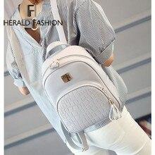 Herald модные женские туфли Рюкзак Повседневная женская обувь студент мешок с кисточкой из высококачественной кожи камень школьная сумка для девочек-подростков Mochila
