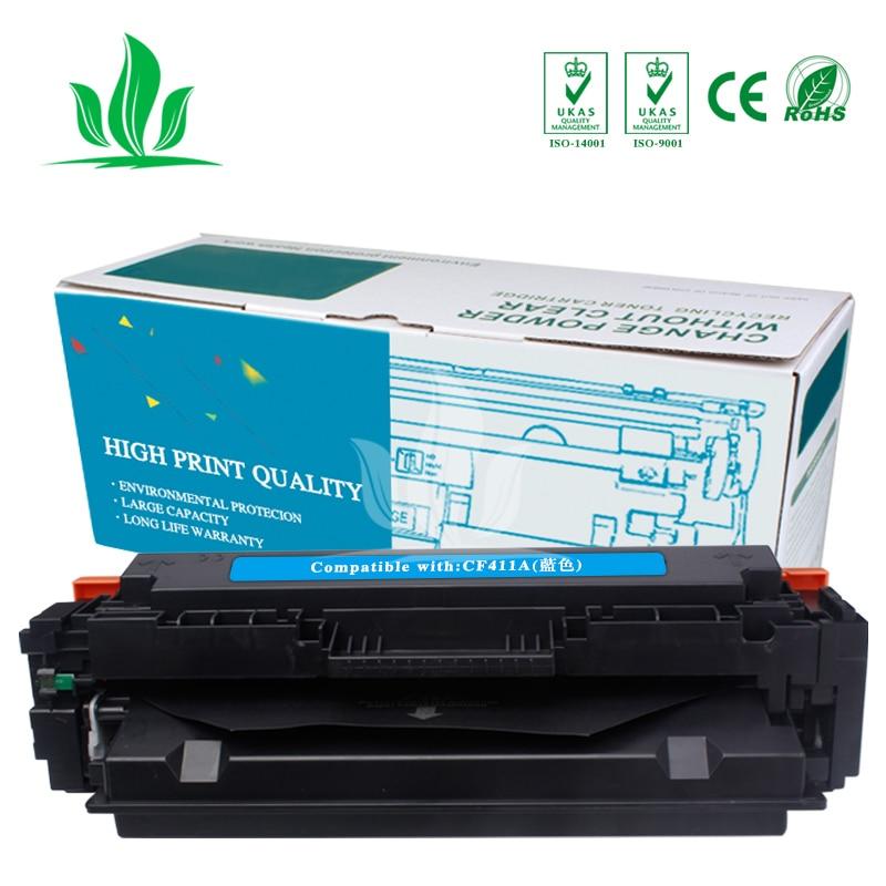CF410A 3 pièces CMY Compatible pour Cartouche De Toner HP 410A CF410A CF410 CF411A CF412A CF413A Color LaserJet Pro M452dn/M477fdw