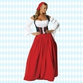 O Envio gratuito de New Beer Maid Rapariga Alemã Oktoberfest Fancy Dress Adulto Fantasia Traje de Halloween Para As Mulheres plus size s-6xl