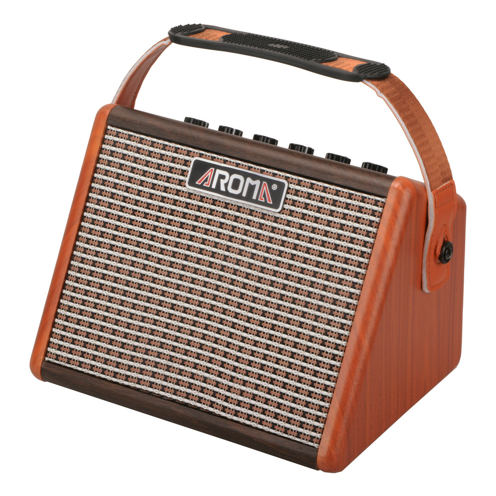 Haut-parleur acoustique folk portatif d'arome jouant extérieur karaoké sans fil Bluetooth rechargeable petit AG-26A stéréo AG-15A