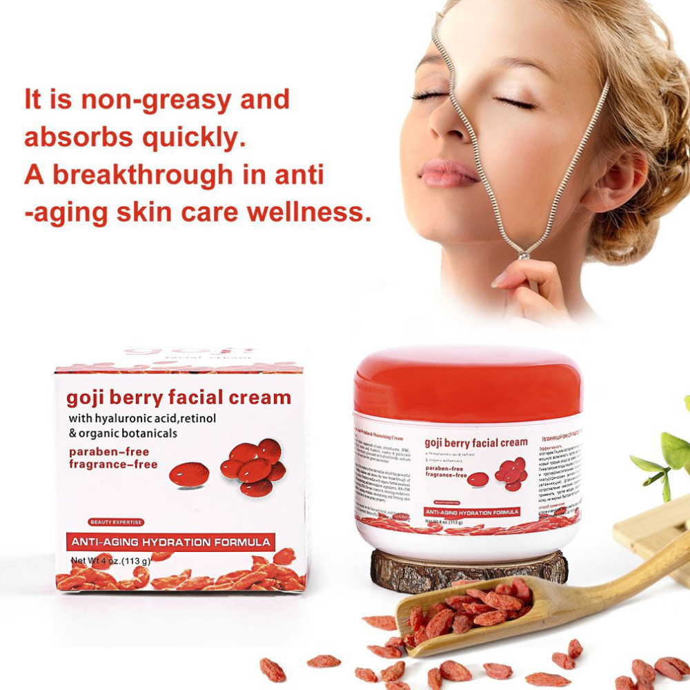 Best selling Portable Home Health Cream Original Goji Berry Facial Face Care Essence Cream Skin Care Moisturizing Accessories цена