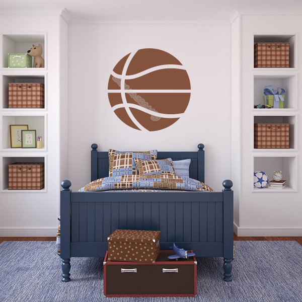 Fine Us 5 98 25 Off Basketball Ball American Sports Wall Sticker Boys Girls Basketball Decal For Kids Room Boy Bedroom Mural Teens Dormitory Eb213 In Download Free Architecture Designs Barepgrimeyleaguecom