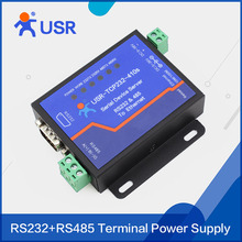 Q062 USR-TCP232-410S RS232 RS485 to TCP/IP Converter Ethernet Serial Devce Servers Modbus to Serial Ethernet with DHCP and DNS