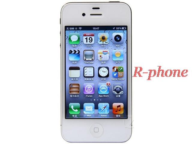 """Полный оригинальный iphone 4S 8 ГБ 16 ГБ 32 ГБ используемых мобильных телефонов 3.5 """"iOS 8 двухъядерный 8MP NFC WI-FI GPS 3 г wcdma смарт-мобильный телефон"""