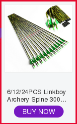 6 12 pçs linkboy tiro com arco