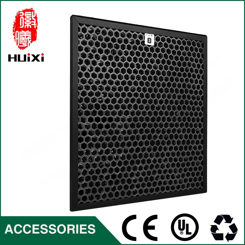 320*290*10mm Activated Carbon Filter for AC4002 AC4004 AC4012 Air Purifier Parts Replacement Honeycomb Filter hot sale 320 290 24mm ac4124 air purifier hepa filter screen to filter pm2 5 with high efficiency for ac4002 ac4004 ac4012