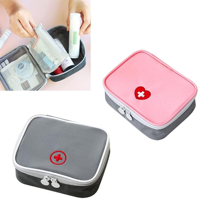 Hot Selling First Aid Medicine Storage Bag Emergency Medical Kit Survival Wrap Gear Hunt Travel Bag 99 LT88
