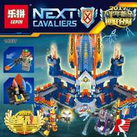 LEPIN 14037 1295PCS Second Half Of The Latest Future Knights Building Blocks Kits Toy Model Building
