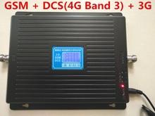 Nouveau 23 dbm 65dbi tri-bande GSM 900 1800 MHZ 2100 MHZ booster répéteur 4g DCS répéteur 3G booster gsm répéteur GSM BOOSTER 4G bande 3