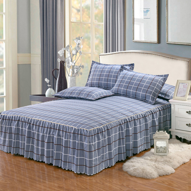 B  Bed Skirt Full bed with storage 5c64ed4a23a74