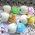 5 unids Nueva llegada 5 cm Ejército verde Grandes ojos tortuga de peluche de juguete muñeca tortuga tortuga niños como regalos de Cumpleaños de Navidad regalo
