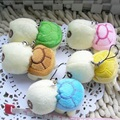 5pcs New arriving 5cm Army green Big eyes turtle plush toy turtle doll turtle kids as Birthday Christmas gift