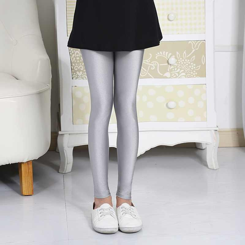 8a0c6b6c9a43e ... 3 - 10 Years Old Skinny Kid Imitation Leather Pants Girl Leggings Baby  Kids Legging Girls ...