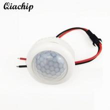 QIACHIP AC 220V PIR Motion Sensor Switch Turn ON OFF IR Infrared