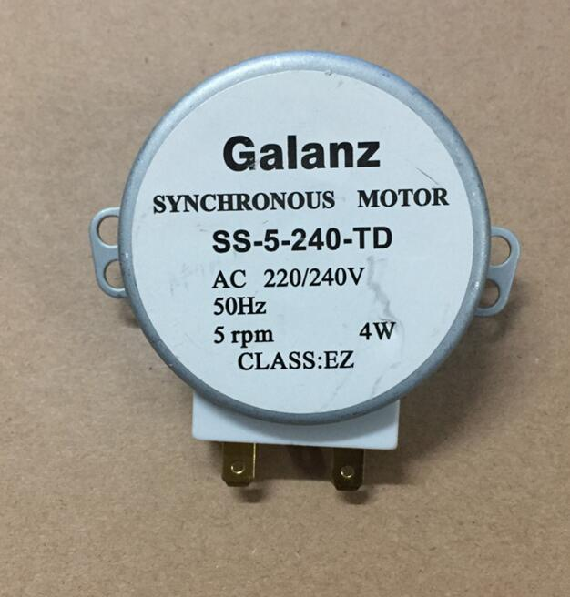 5RPM Microwave oven accessories 220v-240v 4w synchromotor glass plate rotating motor SS-5-240-TD