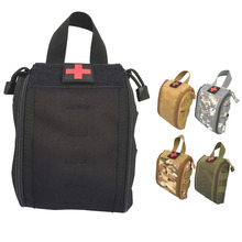 2017 New Arrival Military Tactical Molle Medical Kit Small Pouch Emergency Survival Gear Bag First Aid Kit Pouch Storage Bag