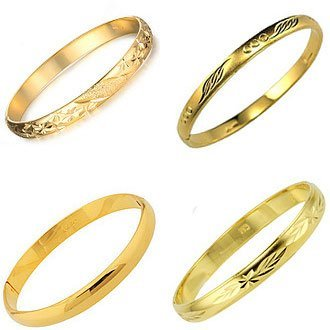 OPK FASHION JEWELRY 20pcs/lot 18K Gold Plated Bracelet Cuff Bangles Women Wedding Bridal Jewelry Cheap Price Wholesale