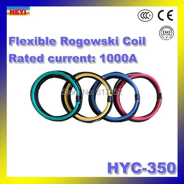 Здесь продается  flexible rogowski coil HYC-350 Inner diameter 100mm Rogowski coil Rated current 1000A rogowski 120mV Signal Output  Электротехническое оборудование и материалы