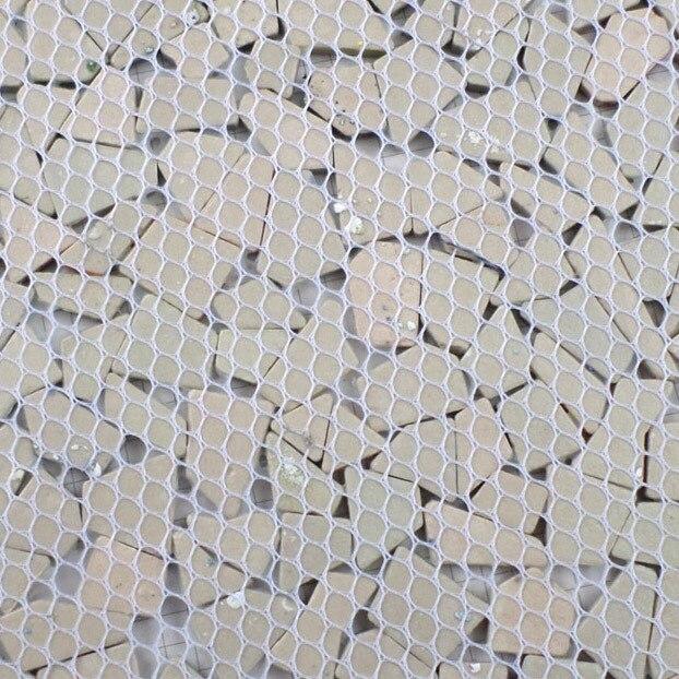 Arco iris colorido mosaico de ceramc de forma irregular de siete - Decoración del hogar - foto 5