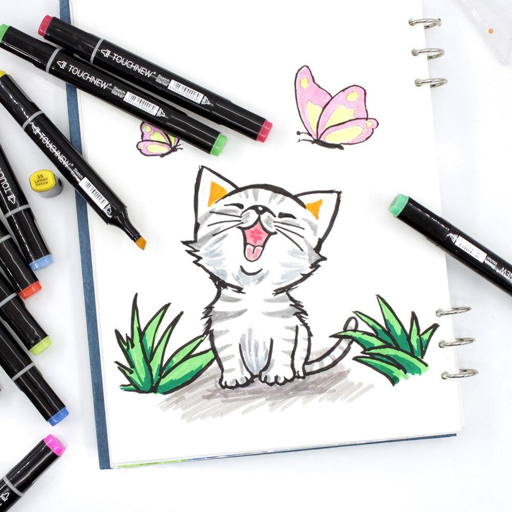 Открытки доброго, как нарисовать открытку маркерами