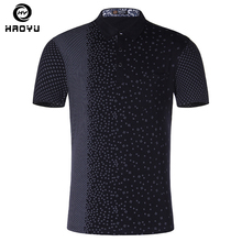High Quality Men's Polo Shirt Cotton Fashion Print Anti-Pilling Shirt Polos Summer Brand Clothing Short-sleeve Casual Plus Size