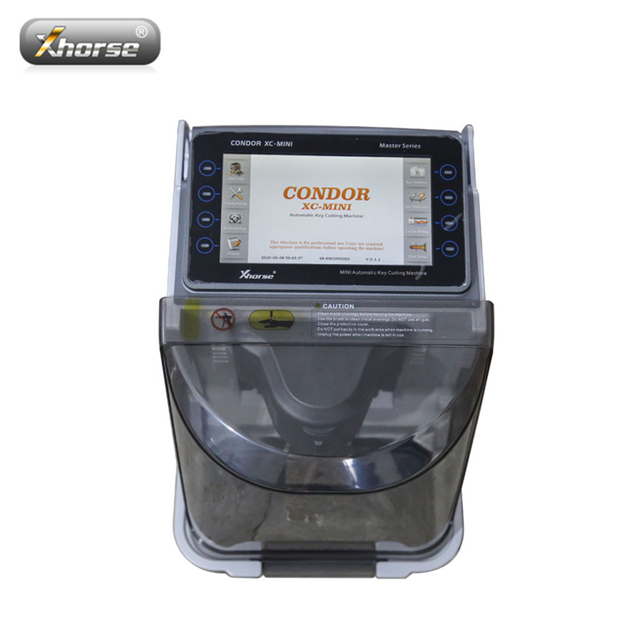 Xhorse iKeycutter CONDOR XC MINI Master Series Automatic Key Cutting Machine Replacement of CONDOR XC 007 Update Online