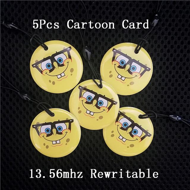 5 cartoon keys 11