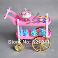 Free shipping,Hot-Selling Children Play Toys Girls Birthday Gift Cake Car Accessories For Barbie Doll,girls Christmas gift