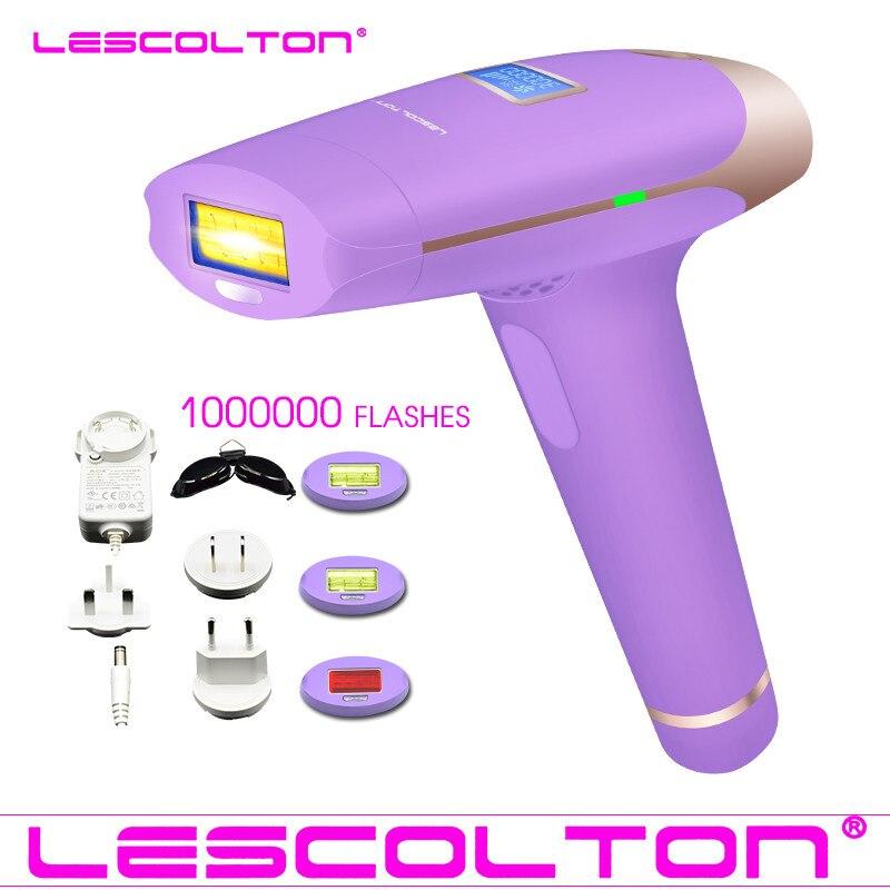 100% Оригинальный Lescolton 3в1 700000 импульсный IPL лазерный эпилятор для удаления волос устройство постоянного удаления волос IPL лазерный эпилятор подмышки