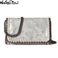 NIGEDU brand design Women Crossbody Bags Chain small Ladies Shoulder bag clutch bag bolsa feminina luxury evening bags Clutches
