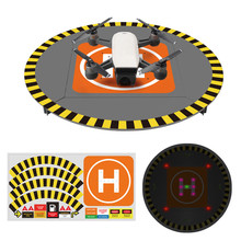LED Lights in H Array Landing Pad Extensible Launch Pad For DJI Mavic Pro