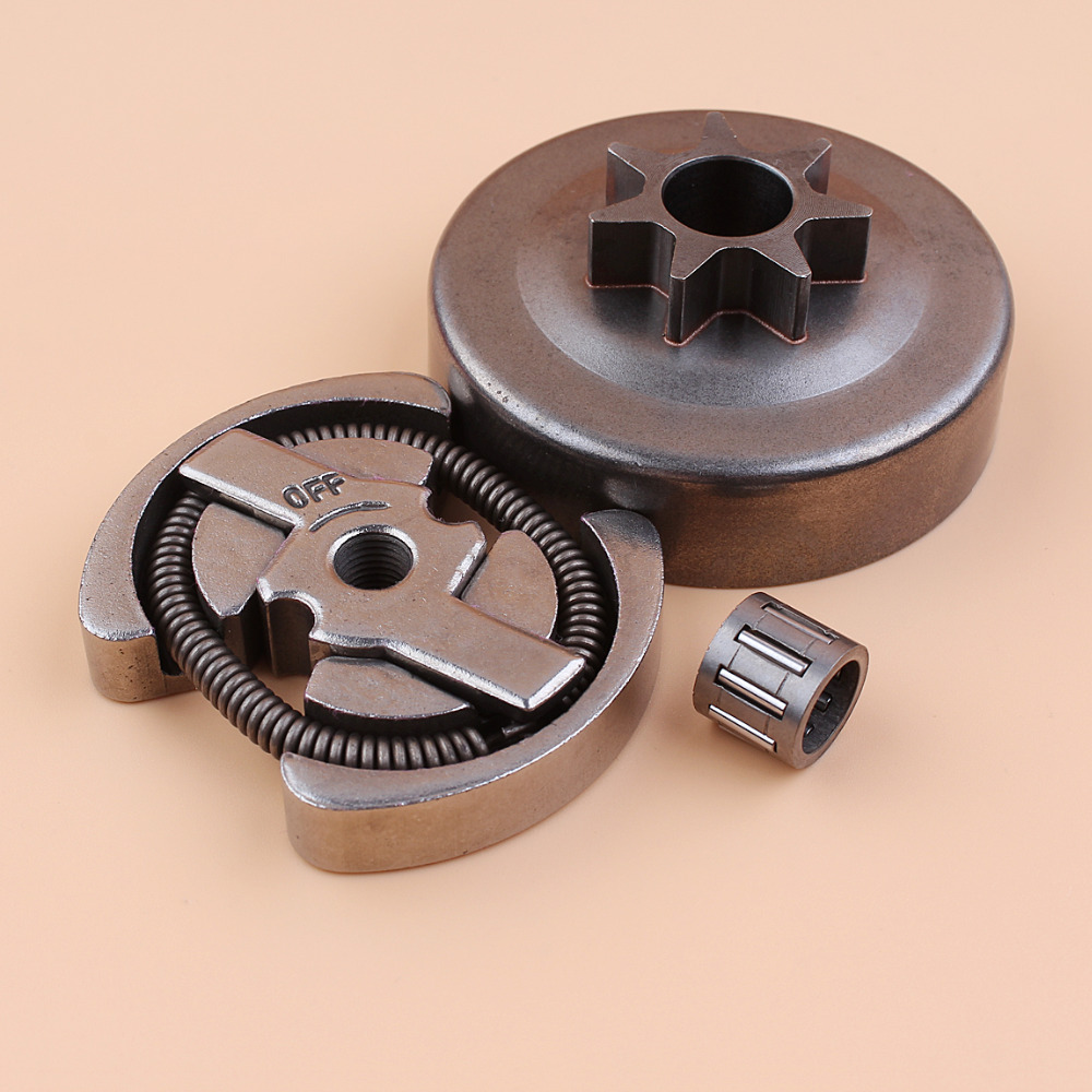 Clutch Assembly WT Spur Sprocket Clutch Drum For HUSQVARNA 36 41 136 137 141 142 Chainsaws 530014949 / 530069342