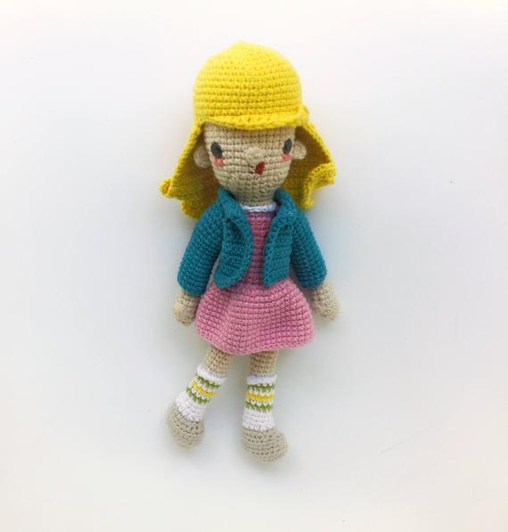 Crochet Armigurumi Rattle  Game Character  Model Number 829