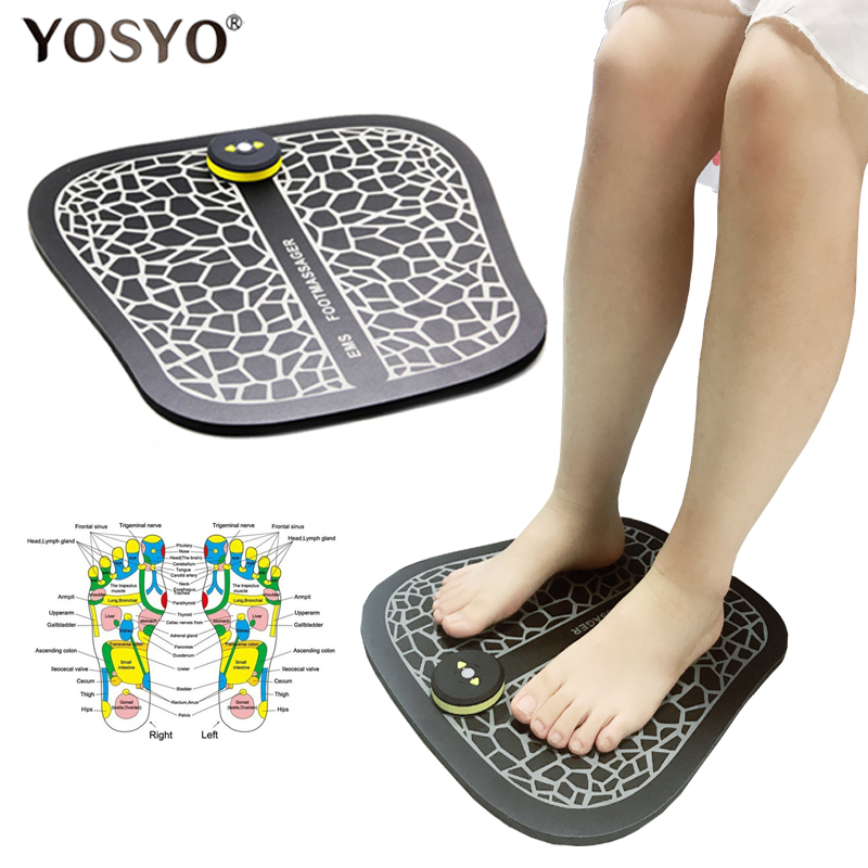 Generic YOSYO EMS Foot Massager ABS Physiotherapy