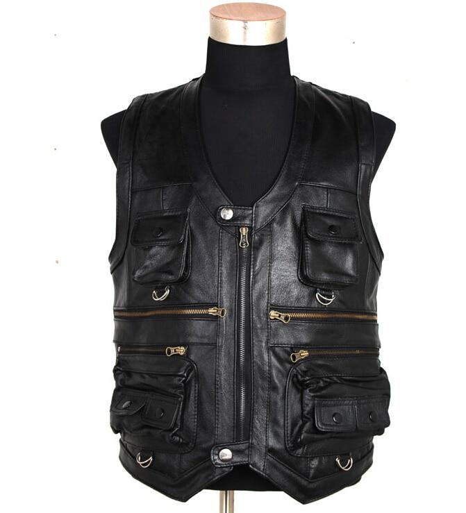 Autumn Newly Fashion Men Jacket Black Color Skull Embroidery Rock Style Denim Jacket Destroyed Ripped Coat
