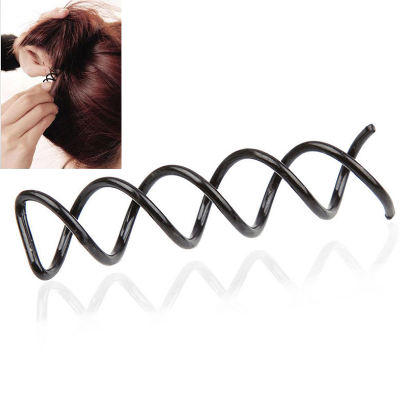Hair Long Women Medium 10pcs Pin Spin Spiral Pcs For Black Twist Great To Stylish Hair Set Fashion Clip Accessories Cool In Summer And Warm In Winter Clips