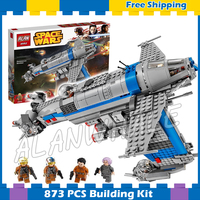 873pcs Space Wars Resistance Bomber Spaceship Set 05129 Model Building Blocks Assemble Boys Set Games Gifts