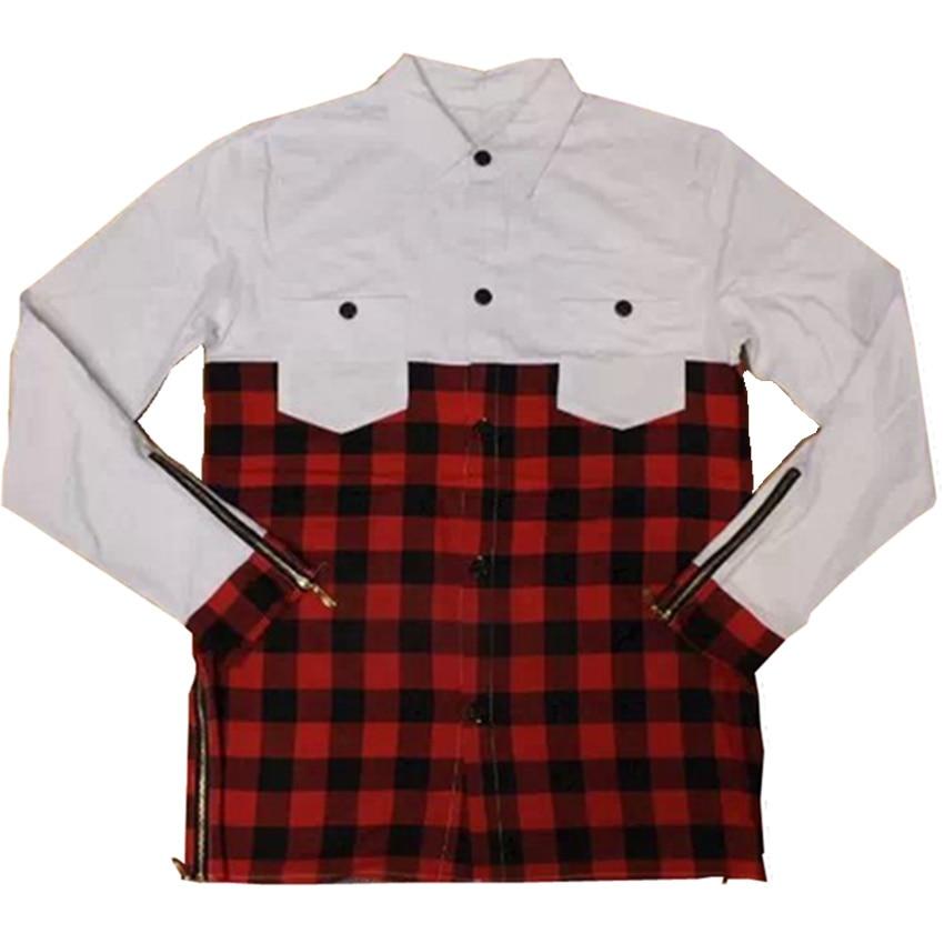 2017 cool long sleeve t shirt men kanye west design gold for Long sleeve t shirts design