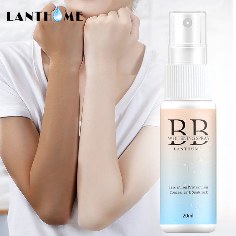 2019 New State Spray BB Cream Whitening Concealer Waterproof Lazy Spray Face Base Makeup Cream Primer Makeup TSLM1