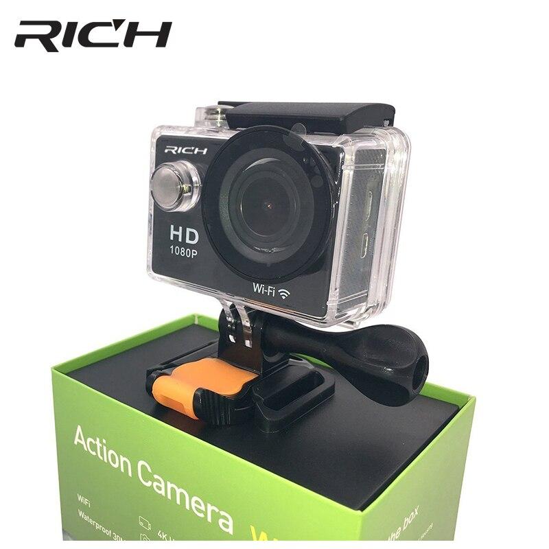 RICCO Ultra HD 4 K Sport Action Camera WiFi 2.0 1080 P Impermeabile sport DV Mini Digital Photo Fotocamera go pro Impermeabile Action Cam