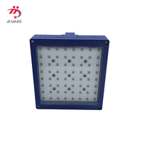 100*100mm Uv gel curing lamp for LCD production line production shadowless glue curing 365nm Ultraviolet light exposure lamp