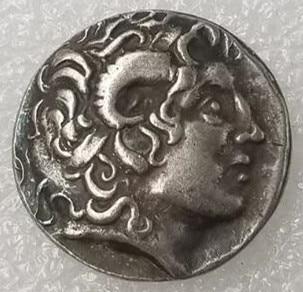 Старинная греческая монета, памятная монета