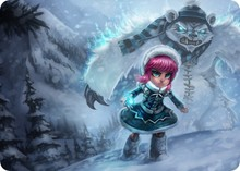 Frostfire Annie mouse pad lol pad mouse League laptop mousepad Popular gaming padmouse gamer of Legends keyboard mouse mats