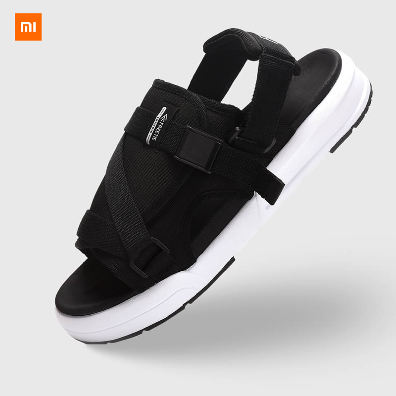 New Xiaomi Mijia Youpin Freetie Two casual sandals Breathable mesh material elastic EVA foot bed single