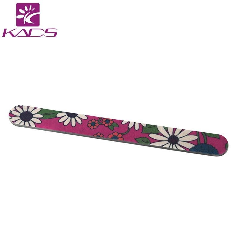 KADS 10pcs/set Nail Art Styling Tools Sanding 180/240 Nail File Buffer For Salon Manicure UV Gel Polisher Nail Polish Files Tool