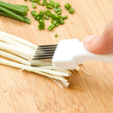 Kitchen Knife Onion Cooking Slicer Vegetable-Cutter Shred-Tools Scallion Cutlery