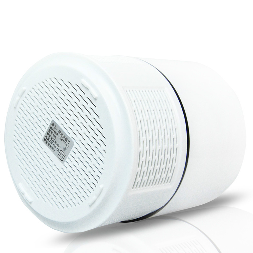 Image 5 - 2 Pcs /Lot USB Electric Mosquito Killer Lamp Radiationless Mosquito Killer Photocatalysis Mute Home LED Bug Zapper Insect Trap-in Mosquito Killer Lamps from Lights & Lighting