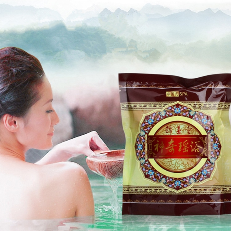 Natural Herbs Bath Supplies Chinese Herbal Pack Herbal Beauty Body Scrub Health Care Longevity Easy Detoxification Slimming Bath